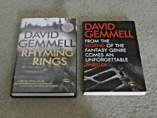 DAVID GEMMELL: RHYMING RINGS: UK FIRST EDITION HARDCOVER & UK UNCORRECTED PROOF