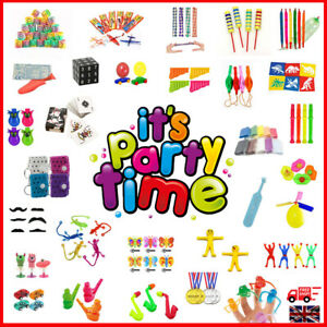 Children's Kids Party Goody Gift Bag Fillers Toys Colourful HUGE Selection 1-100