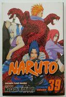 Naruto, Vol.39 by Masashi Kishimoto (2009, Paperback) Manga Book English Version
