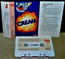 CREAM        -  ROCK LEGENDS  -                        Cassette Tape