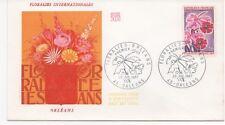 FRANCE 1967.F.D.C.FLORALIES INTERNATIONALES ORLEANS .OBLIT:LE 29/7/67 ORLEANS
