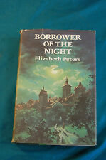 Borrower of the Night by Elizabeth Peters First Edition Dodd Mead HB/DJ 1973