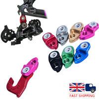 UK MTB Road Bike Rear Extender Gear Adapter/Conversion Derailleur Hanger Black