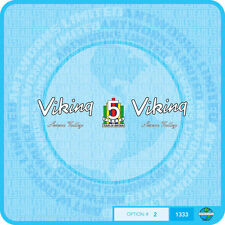 Viking - 1960's Severn Valley Bicycle Decals Transfers - Stickers - Set 2