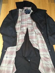 VGC Barbour Stockman mens L 50in waxed country field riding coat