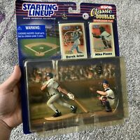NIB Starting Lineup Mlb 2000 Classic Double Derek Jeter Mike Piazza Baseball Toy