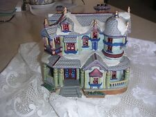 Collectible Lemax 2000 Victorian House Very Good Condition Uses URL mini Lights