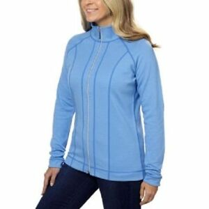 Kirkland Signature Ladies' Reversible Full Zip Jacket  blue