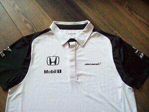 MCLAREN HONDA Polo Shirt Mens XL