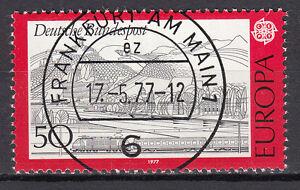 BRD 1977 Mi. Nr. 935 gestempelt FRANKFURT AM MAIN , ohne Gummi ! (15115)