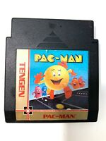 Pac-Man Tengen Pacman - Unlicensed NES Nintendo Game TESTED + WORKING!