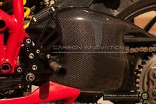 DUCATI  CARBON FIBER 848 1098 1198 S/R STREETFIGHTER SWINGARM GUARD COVER