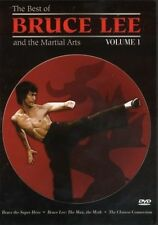 "MARTIAL ARTS DVD ""BEST OF BRUCE LEE VOL. 1"" 'SUPER HERO','THE MAN,THE MYTH' + 1"