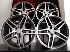 "Mercedes AMG Reps 19"" Inch Alloy Wheels Alloys C E S Class SLK CLA CL CLS SL C63"