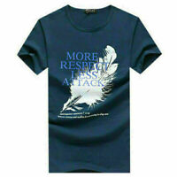 Fashion Men's Slim Fit O Neck Short Sleeve Tee Shirts Casual T-shirt Tops Blouse