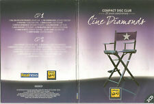 CINE DIAMONDS - COMPACT DISC CLUB-2015 2 CD PACK