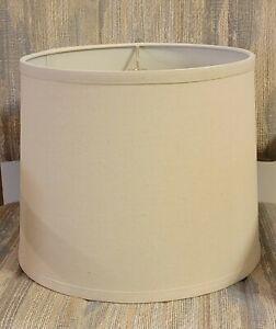 Beige Drum Lamp Shades (Set of 2)