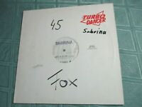 "SABRINA (12"" SINGLE) LIKE A YO YO ('89 REMIX) [ITALO SYNTH **GER PROMO,RARE]"