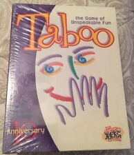TABOO BOARD GAME - 10TH ANNIVERSARY EDITION - NEW & FACTORY SEALED