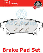 Apec Rear Brake Pads Set OE Quality Replacement PAD1718