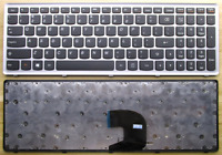 Non-Backlit Keyboard for Lenovo IdeaPad P500 Z500 Z500A Z500G Silver Frame