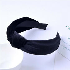 Fashion Women's Knot Headband Gold Velvet Fabric Head Band Headwear Headpiece