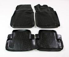 Caoutchouc Tapis de voiture imperméable noir 3D pour Nissan Qashqai MK1 2007>