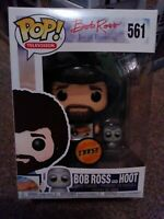 The Joy of Painting Bob Ross and Hoot Chase #561 Funko POP! vinyl