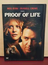 Proof of Life - DVD Region 1 - Meg Ryan - Russell Crowe