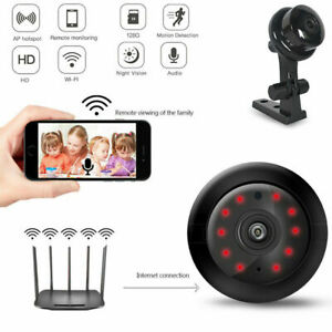 1080P Mini WIFI IP Camera Wireless Indoor CCTV Smart Home Security IR Cam Hot