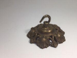 Vintage Brass Ceiling  Chandelier /pendantHook