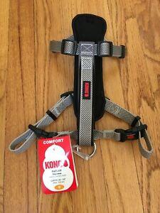 "KONG Padded Chest Plate Dog Harness BRAND NEW-Medium Gray Girth 20-29"" 4 CHARITY"