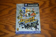 Nintendo Gamecube Starfox Adventures Star Fox Japanese US seller