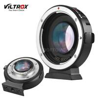 VILTROX Auto Focus Lens Reducer Speed Booster Adapter Ring Canon Lens to M43 MTF