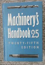 Machinery's HandBook 25th