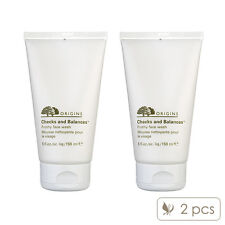 SET OF 2 Origins Checks and Balances Frothy Face Wash 150ml x2= 300ml NEW#1416_2