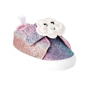 First Steps By Stepping Stones Baby Girls Cloud Cutie Sneakers