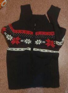 Maglione collo alto con zip lana 1st american Maglia TG xxl