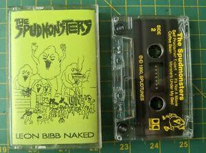 Rare The Spudmonsters Leon Bibb Naked Demo Tape Cleveland Metal Integrity