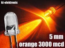 100 Stück LED 5mm orange superhell