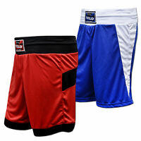 VELO Boxing Shorts Kick Fitness MMA Satin Fabric Gym Training Light Weight