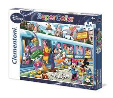Puzzle Clementoni - Disney - 104 pezzi - Disney Paperino Topolino Principesse
