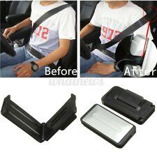 2pcs Car Seat Belt Stopper Buckle Improves Comfort Strap Adjuster Clip Tension