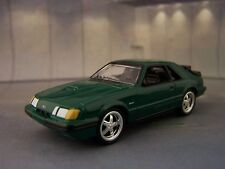 1984 - 1986 Ford Mustang Fox Body Turbocharged SVO 1/64 scale collectible model