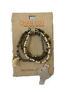 Chan Luu Mixed single bracelets
