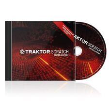 Traktor Scratch Control Disc mk2 Double CD Double timecode DJ NEW
