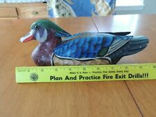 Hand Carved Wood duck