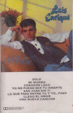 Luis Enrique Mi Mundo Cassette New