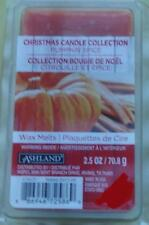 NEW Pack Ashland Christmas Candle Collection Pumpkin Spice Scented Wax Cubes