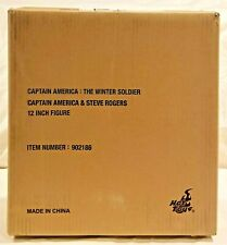 Hot Toys *CAPTAIN AMERICA & STEVE ROGERS 1/6 SCALE FIGURE SET* Brand new in box!
